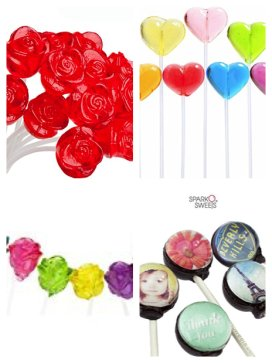 4 types of lollipops for fundraisers