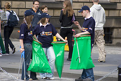 Street Litter and Trash Fundraising Activities