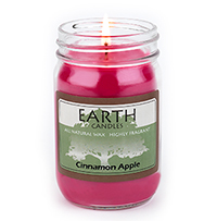 Earth candle