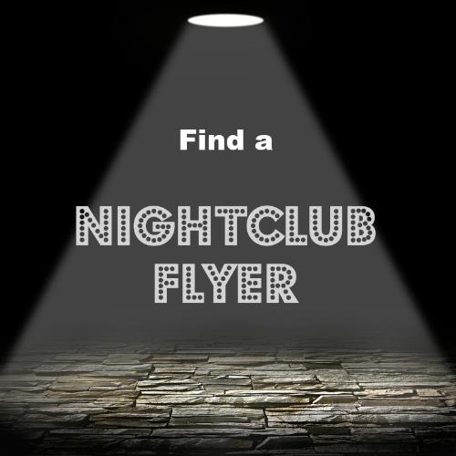 Nighclub flyer