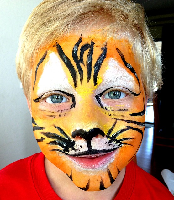 Preschool fundraising ideas - face painting