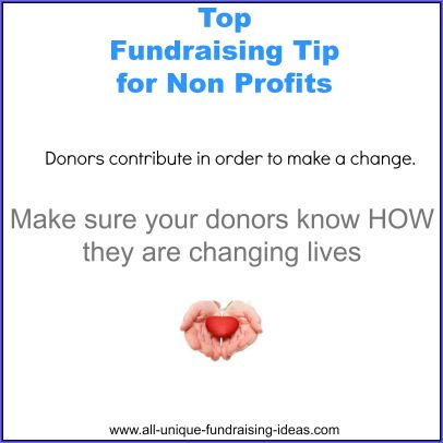 Top fundraising tip