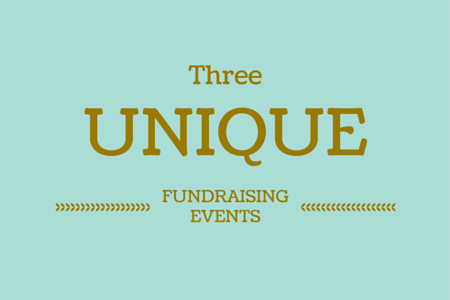 Unique fundraising events